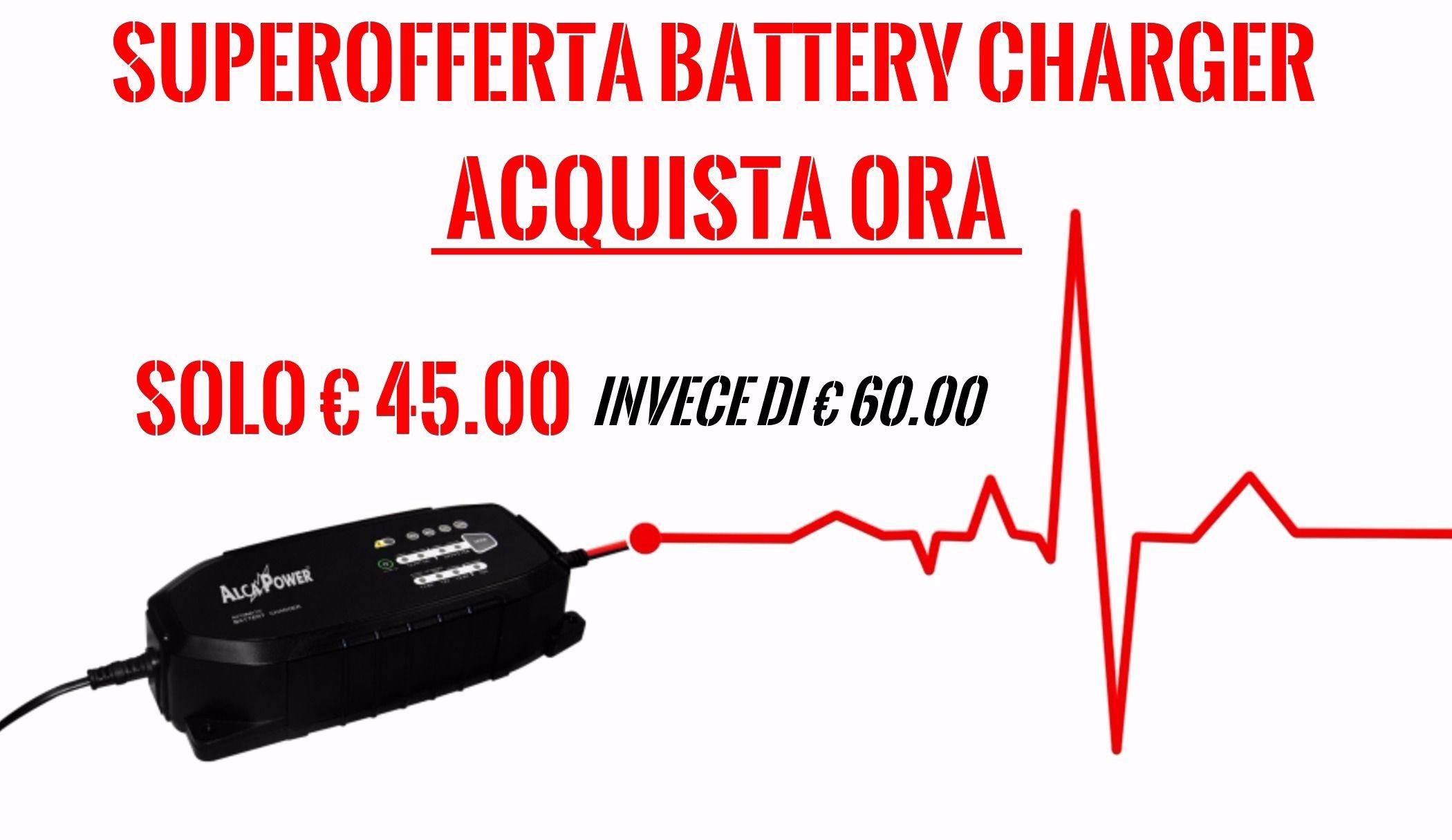 caricabatterie intelligente alcapower clx-1 offerta